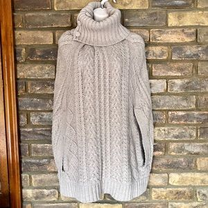 Anthropologie Fiets Voor 2 Cabled Cocoon Sweater